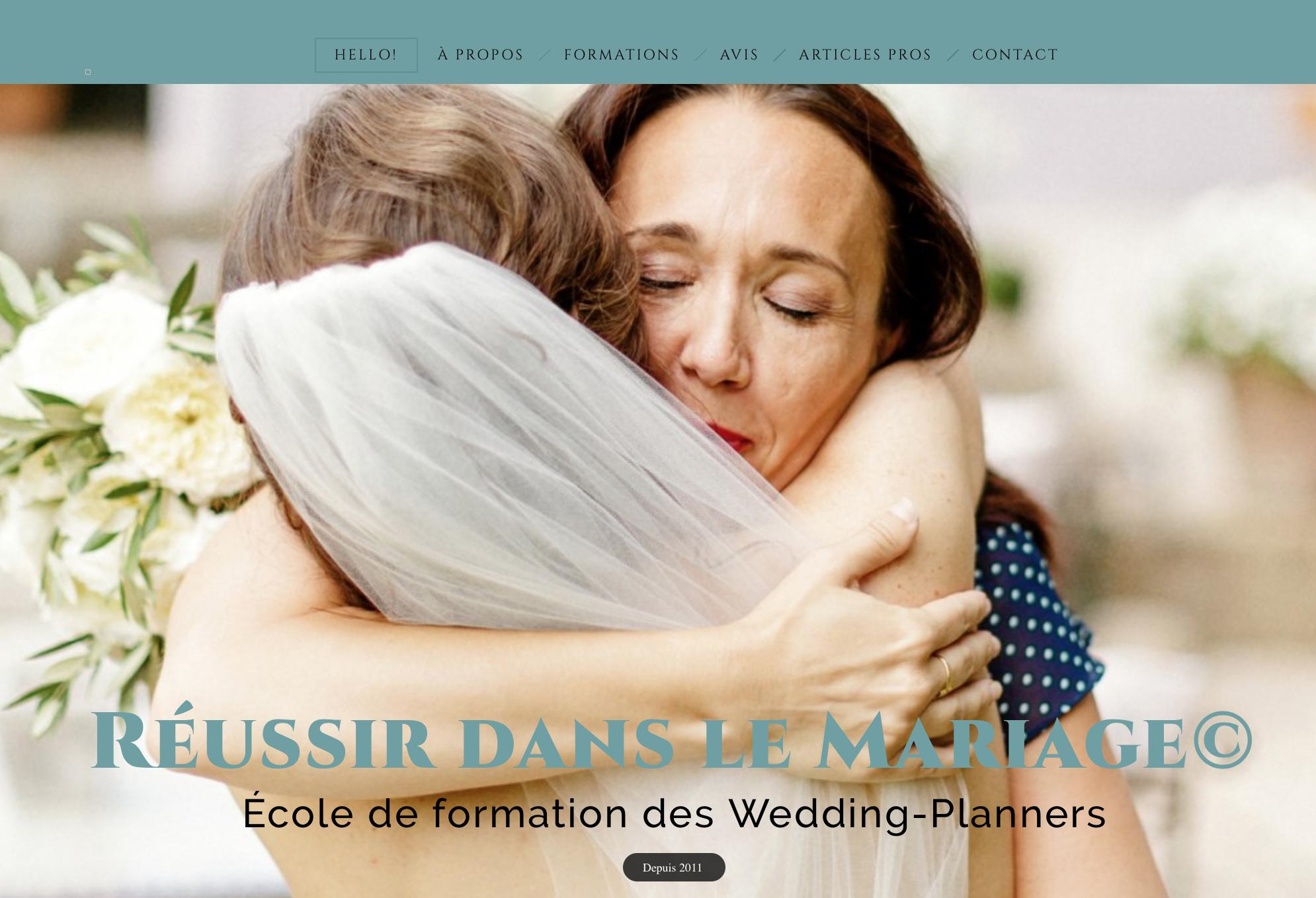 École de formation des wedding-planners