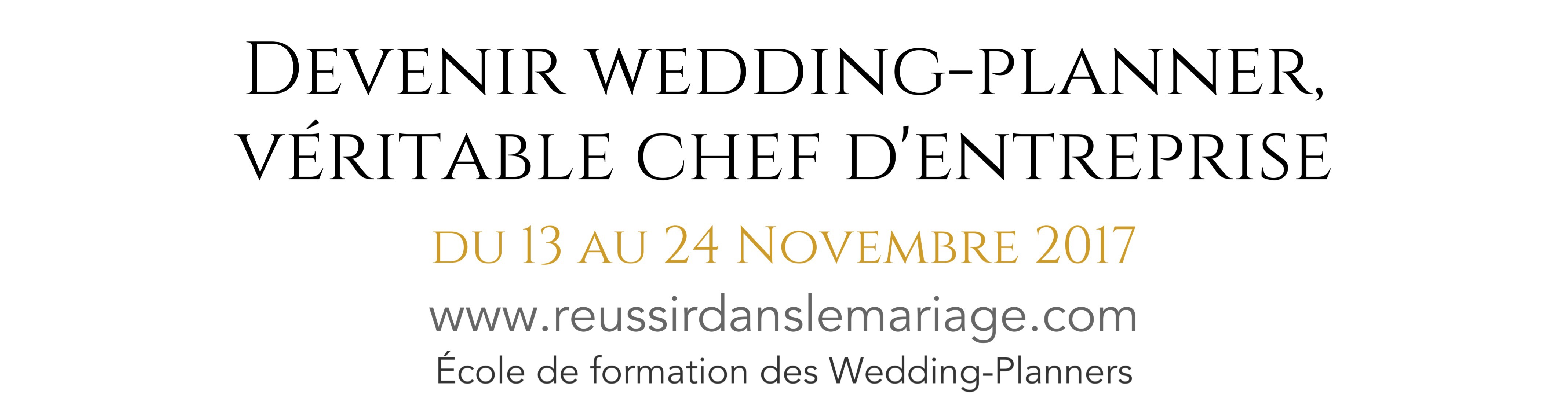 formation devenir wedding planner