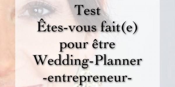 Test : Êtes vous fait(e) pour être Wedding Planner ?