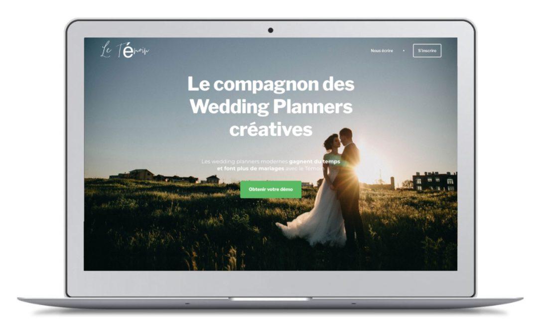 J'ai testé «Le Témoin», la plateforme «pour les wedding-planners modernes» !