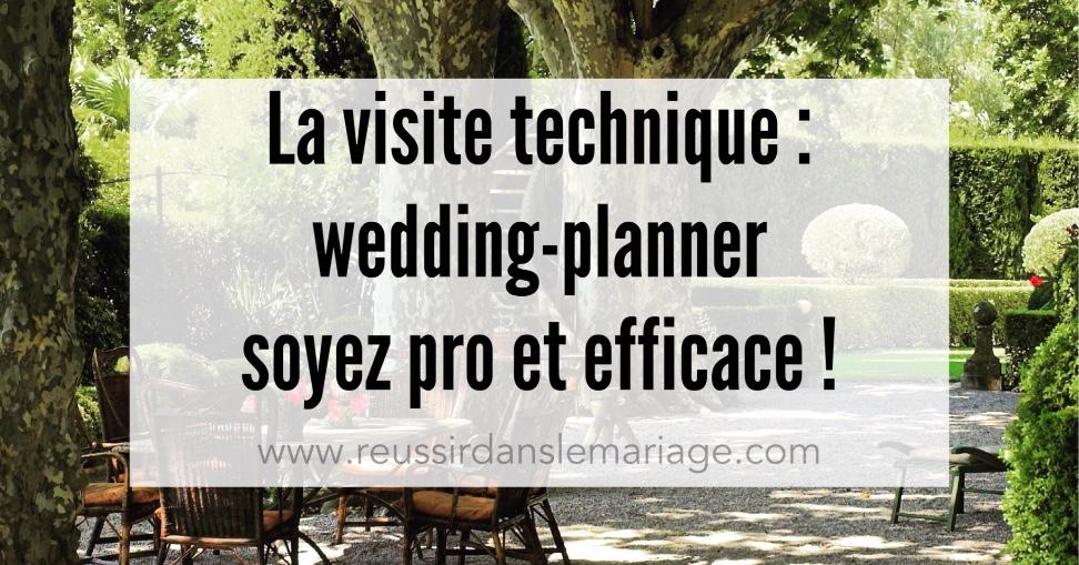 visite technique de mariage